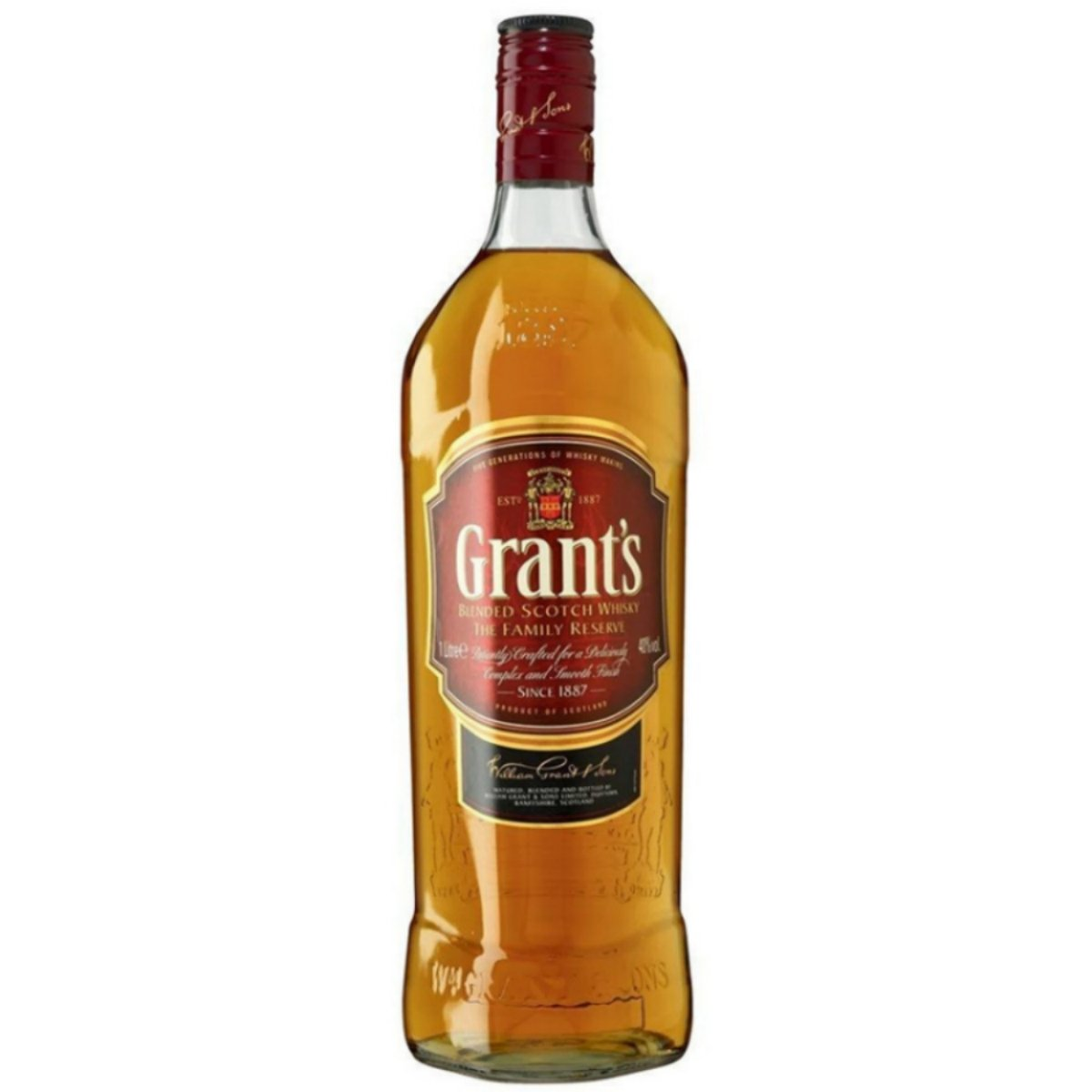 William Grants Blended Scotch Whisky 1l