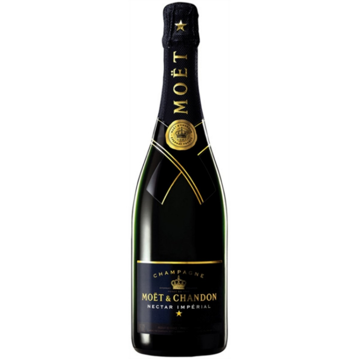 moet chandon nectar imperial champagne 750ml. Black Bedroom Furniture Sets. Home Design Ideas