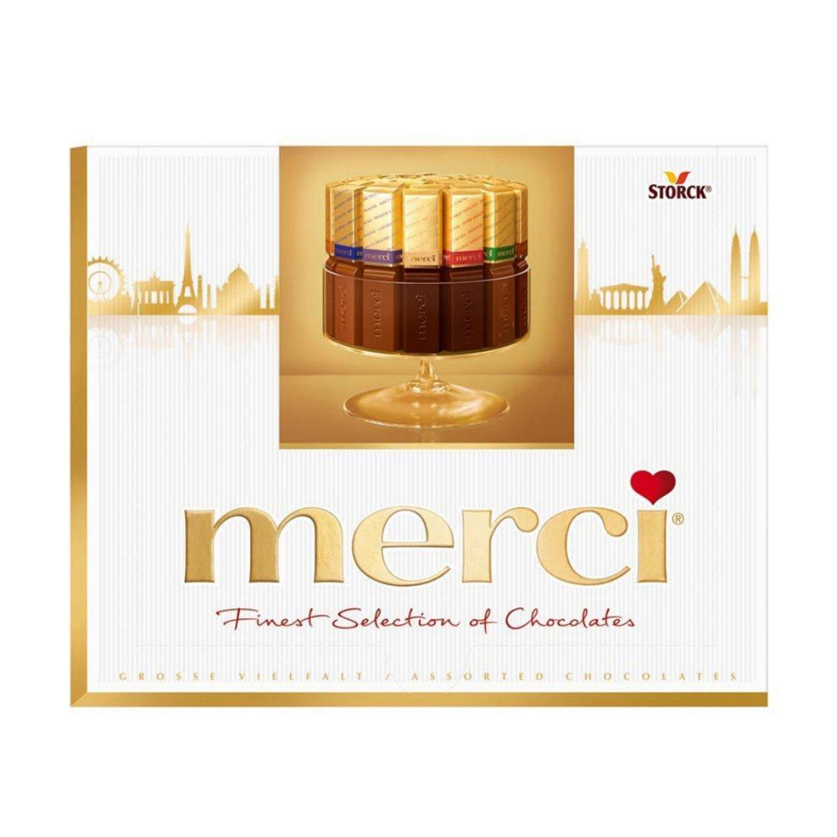 Merci Chocolate Logo - More information - plumbershelp.info
