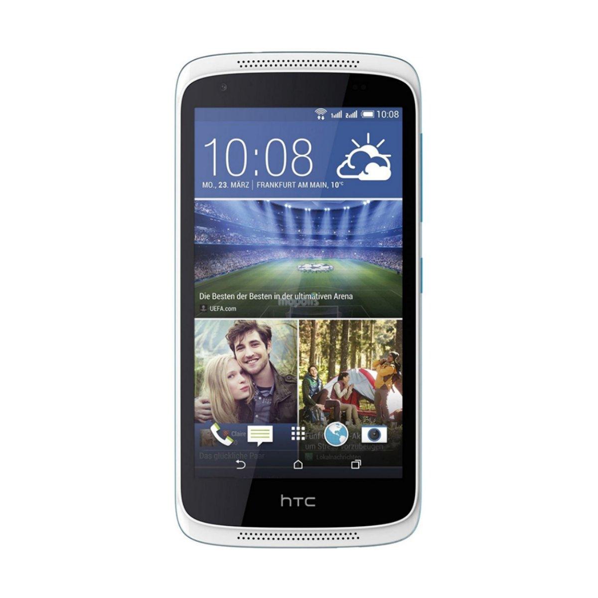 htc desire 526g white glacire blue smart phone. Black Bedroom Furniture Sets. Home Design Ideas