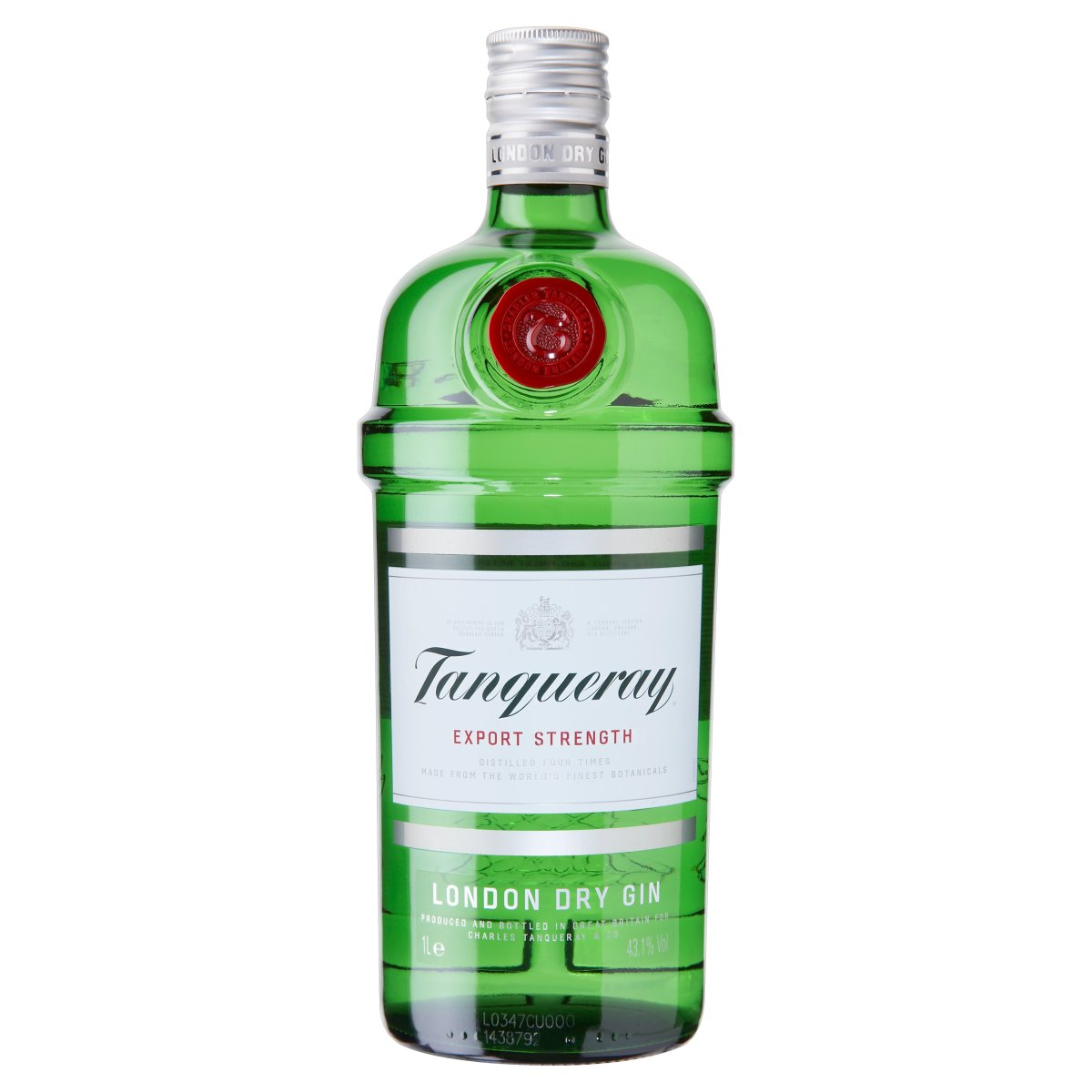 Amazon Travel Essentials Tanqueray Export Strength London Dry Gin 1l