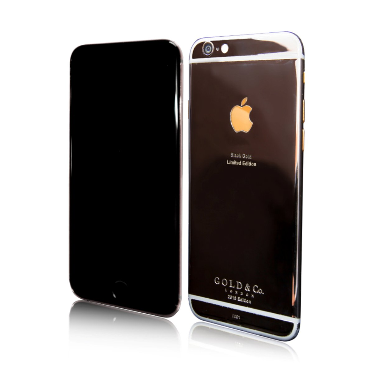 black and gold iphone gold amp co iphone 6 black gold 3878