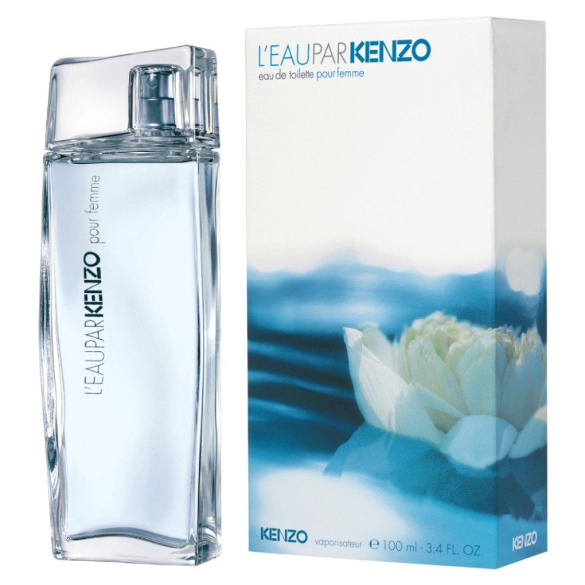 kenzo l 39 eau par kenzo eau de toilette 100ml. Black Bedroom Furniture Sets. Home Design Ideas